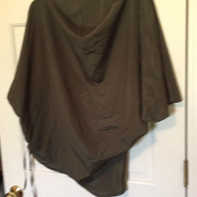 Olive Flowy Top Rack & Co. Large Top olive green