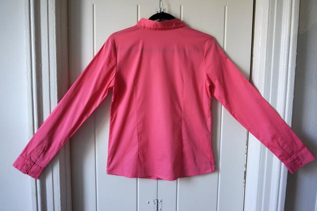 Other Cotton Business Button Down Shirt Pink