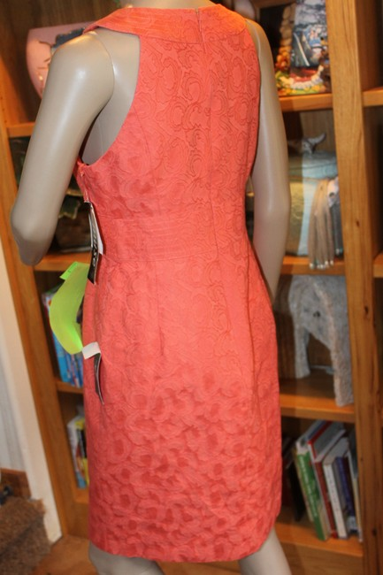 Muse short dress coral on Tradesy