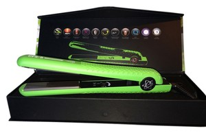 Evalectric The New Evolution flat iron 100% ceramic plates 1.25 CFS8 Lime Green