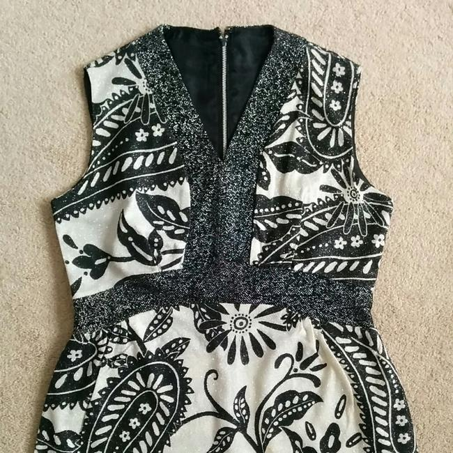 Black and white Maxi Dress by vintage