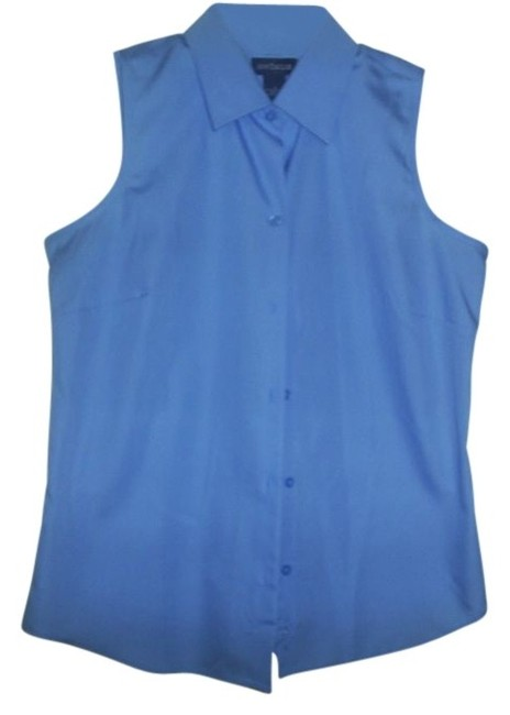 Ann Taylor Top Light Blue