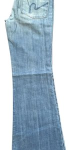Citizens of Humanity Trouser/Wide Leg Jeans-Light Wash