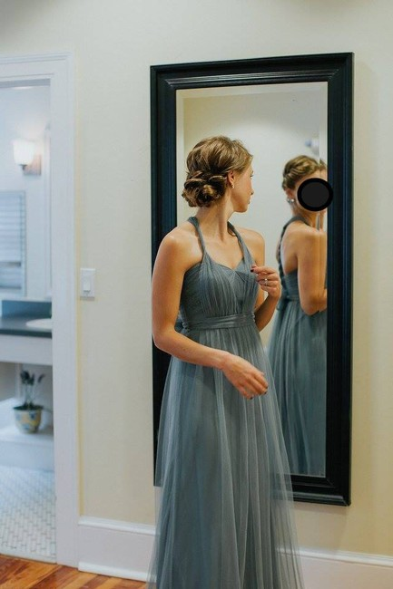 Item - Mayan Blue Tulle Annabelle Modern Bridesmaid/Mob Dress Size 2 (XS)
