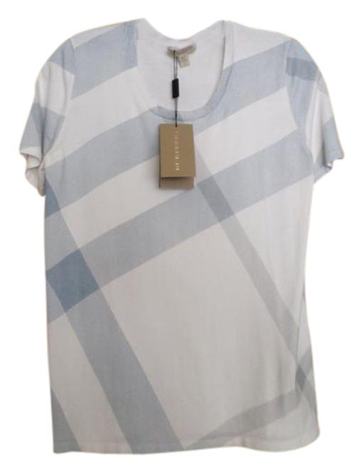 Preload https://img-static.tradesy.com/item/21541194/burberry-brit-white-and-blue-plaid-sweater-night-out-top-size-4-s-0-1-650-650.jpg