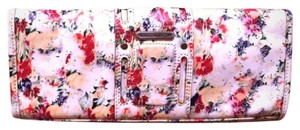 Rebecca Minkoff White with flowers Clutch