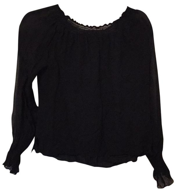 Black Unknown Blouse Size 10 (M) Black Unknown Blouse Size 10 (M) Image 1