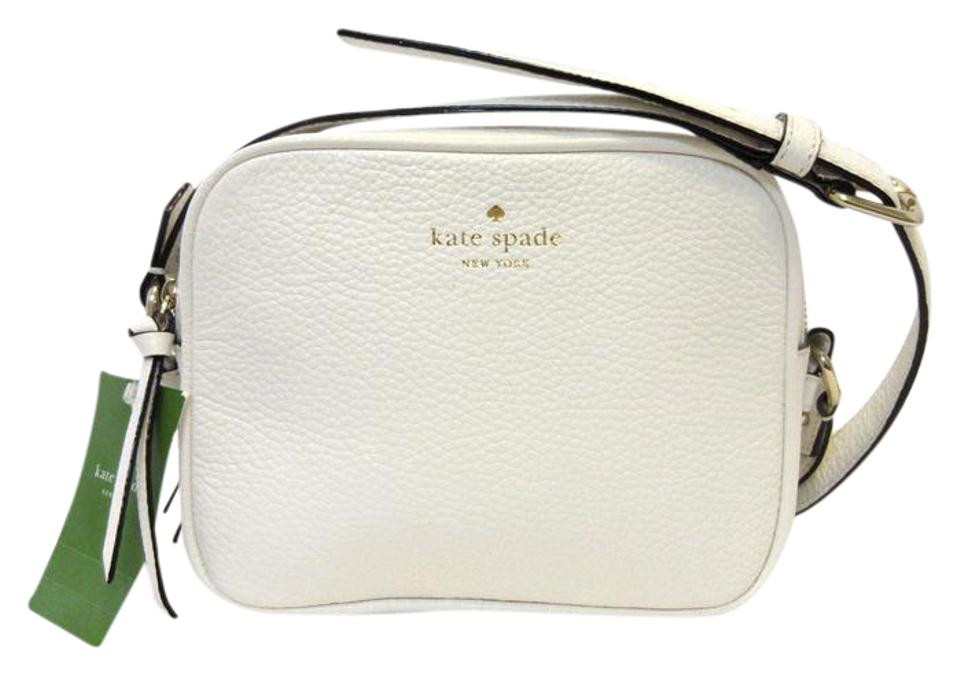 5c7868a7be Kate Spade Pyper Mulberry Street Off White Leather Cross Body Bag ...