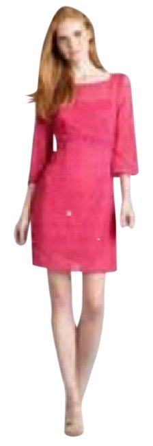 Preload https://img-static.tradesy.com/item/21541415/laundry-by-shelli-segal-bouganvillea-bright-pink-lace-short-night-out-dress-size-6-s-0-2-650-650.jpg