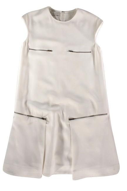 Preload https://img-static.tradesy.com/item/21541517/stella-mccartney-cream-sleeveless-accent-zipper-shift-it-42-us-short-casual-dress-size-6-s-0-0-650-650.jpg