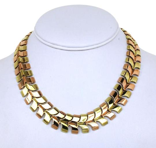 Preload https://img-static.tradesy.com/item/21541608/tiffany-and-co-yellow-rose-gold-vintage-14kt-fancy-link-hefty-necklace-0-1-540-540.jpg