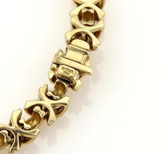 Tiffany & Co. Diamonds Signature X Crossover 18k Yellow Gold Bracelet