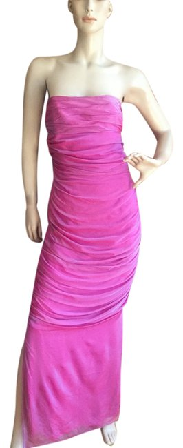 Item - Fuchsia With Tags Long Night Out Dress Size 8 (M)