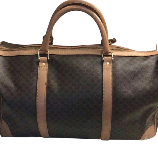 Preload https://img-static.tradesy.com/item/21541683/celine-bagduffel-brown-weekendtravel-bag-0-2-540-540.jpg