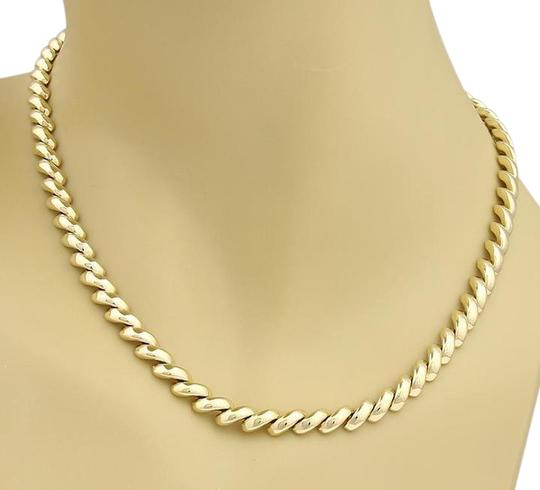 Preload https://img-static.tradesy.com/item/21541736/tiffany-and-co-yellow-gold-vintage-macaroni-link-16-long-necklace-0-1-540-540.jpg