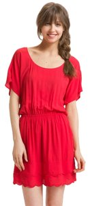 Ella Moss short dress Red Summer on Tradesy