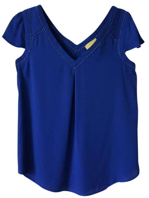 Preload https://img-static.tradesy.com/item/21542071/anthropologie-blue-violet-intense-with-embroidery-details-blouse-size-4-s-0-1-650-650.jpg