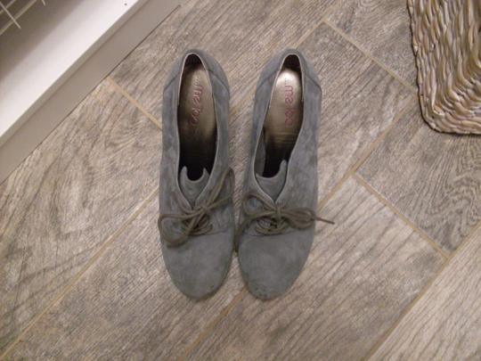Me Too Suede Laced Grey Boots