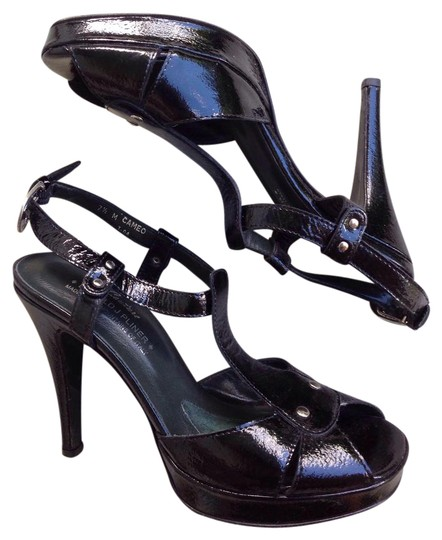 Preload https://item1.tradesy.com/images/donald-j-pliner-black-cameo-patent-leather-t-strap-heels-sandals-platforms-size-us-75-regular-m-b-21542285-0-1.jpg?width=440&height=440