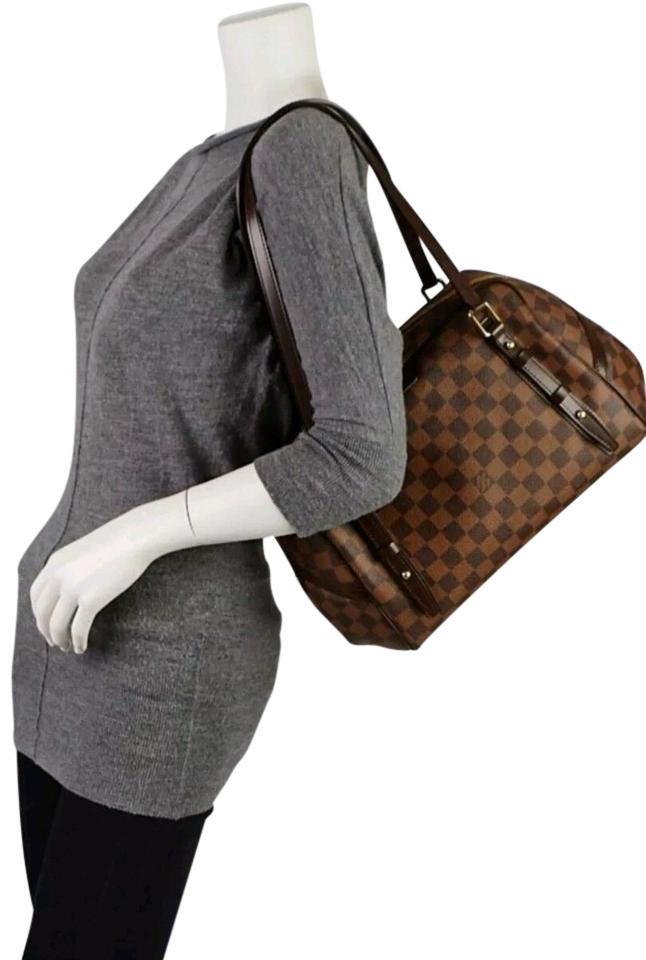 ebda3ba1564d Louis Vuitton Rivington Gm Brown Damier Ebene Shoulder Bag - Tradesy