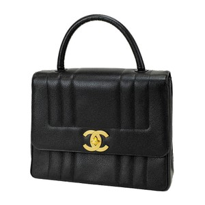 dfe93bff5b4 Chanel Vintage Caviar Leather Tote in Black