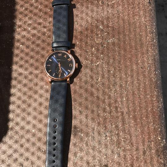 Marc by Marc Jacobs Rose Gold Navy Band
