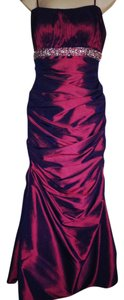 Joli Prom Purple Ruffle Dress