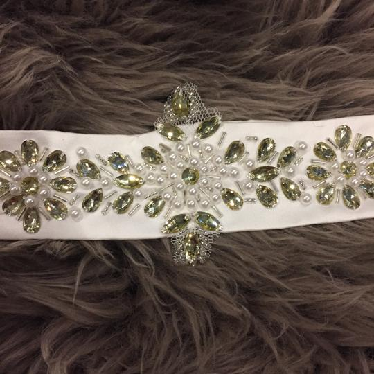 White Dress Sash/Belt Sash
