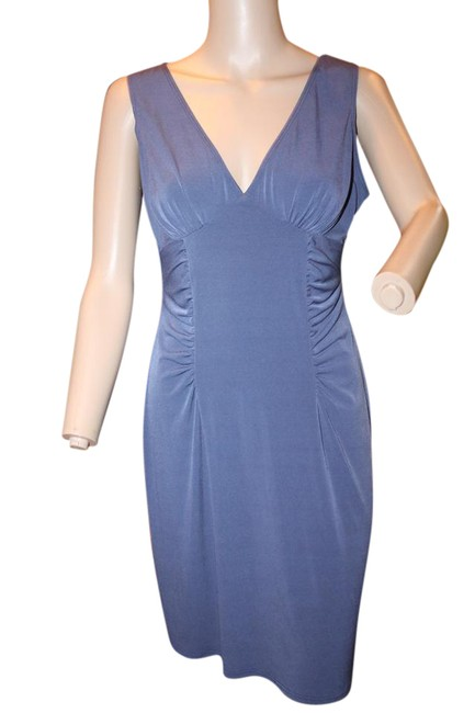 Preload https://item4.tradesy.com/images/victoria-s-secret-slate-blue-sexy-vneck-mid-length-night-out-dress-size-8-m-21542728-0-1.jpg?width=400&height=650