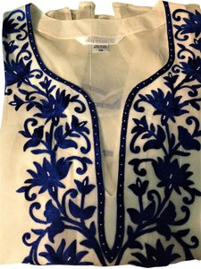 Ella Moss Coverall Tops Embroidered Tunic