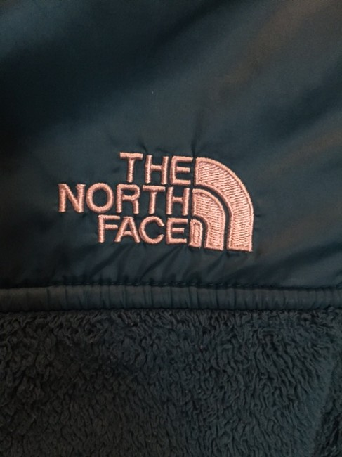 The North Face Winter Fleece Activewear Hoodie Gift Teal Jacket