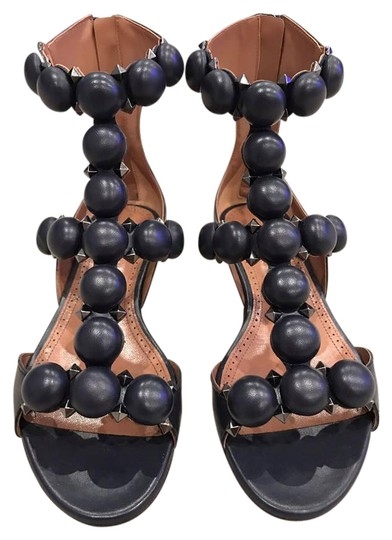 Preload https://item5.tradesy.com/images/alaia-blue-marine-leather-pom-pom-studded-caged-flat-355-sandals-size-us-55-regular-m-b-21542834-0-1.jpg?width=440&height=440