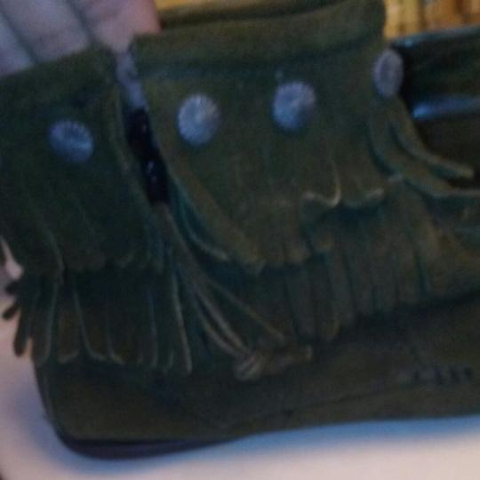 Minnetonka Forest green Boots