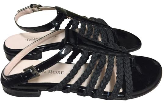 Taryn Rose Black Sandals