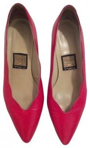 Nina Shoes Lipstick Red Pumps