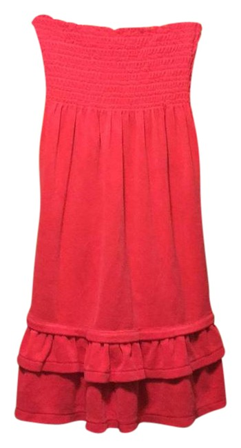 Preload https://item1.tradesy.com/images/juicy-couture-pink-smocked-mid-length-short-casual-dress-size-8-m-21543110-0-1.jpg?width=400&height=650