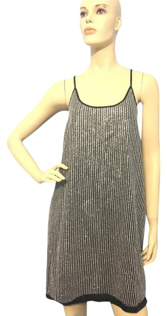 Preload https://item1.tradesy.com/images/zara-silver-glitter-strappy-party-short-casual-dress-size-8-m-21543155-0-5.jpg?width=400&height=650