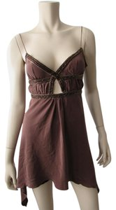 JLo Top Brown