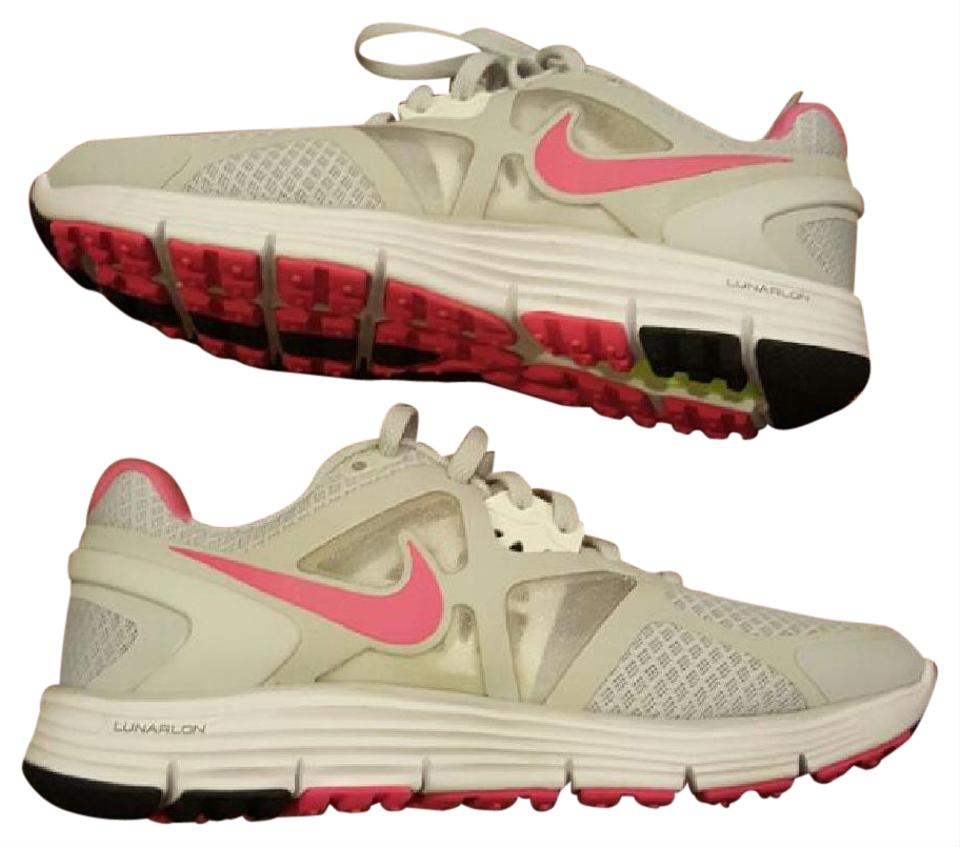 timeless design 8988e fb19f Nike Gray & Pink Womens Lunarglide 3 Platinum Flash Running Nwot Sneakers  Size US 5 Regular (M, B) 48% off retail
