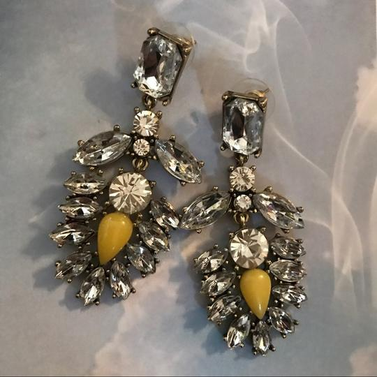 private label Crystal statement earrings