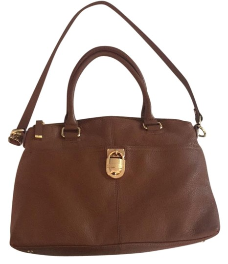 Preload https://item1.tradesy.com/images/calvin-klein-modena-brown-leather-satchel-21543580-0-3.jpg?width=440&height=440