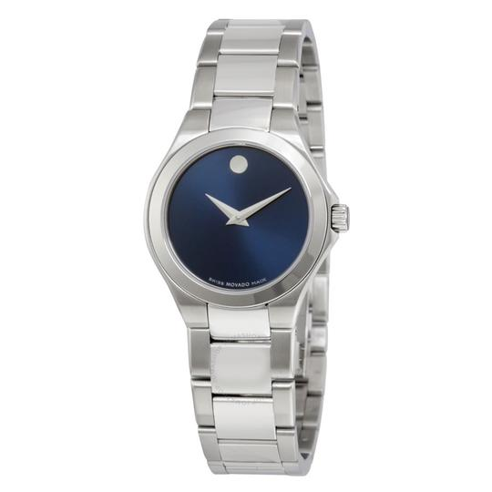 Preload https://item3.tradesy.com/images/movado-silver-stainless-bracelet-blue-dial-defio-0606336-swiss-watch-21543672-0-0.jpg?width=440&height=440