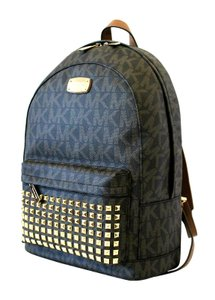 Michael Kors Het Set Item Studded Signature Canvas Backpack