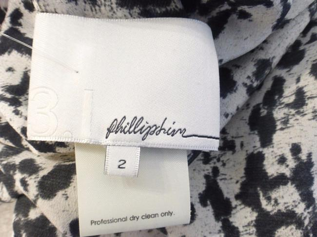 3.1 Phillip Lim short dress Black & Gray Animal Print on Tradesy