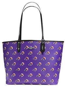 Coach Satchel Shoulder City 55866 Tote in multicolor