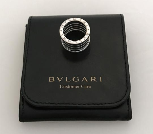 BVLGARI B Zero.1 FIVE 5-Band Ring Designer Size 50 with Bvlgari Leather Pouch