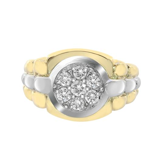 Preload https://item5.tradesy.com/images/avital-and-co-jewelry-18k-two-tone-gold-075ct-round-cut-prong-setting-diamonds-mens-ring-21543864-0-0.jpg?width=440&height=440