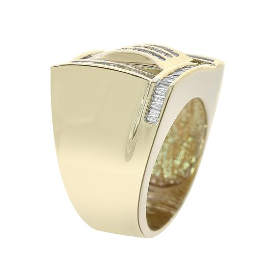 Avital & Co Jewelry 1.00 Carat Baguette Cut Channel Setting Diamonds Mens Ring 14K YG
