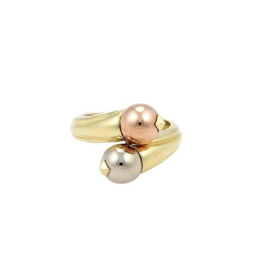 Preload https://item1.tradesy.com/images/bvlgari-white-rose-and-yellow-gold-18k-tri-color-fancy-ball-bypass-size-55-ring-21543885-0-1.jpg?width=440&height=440