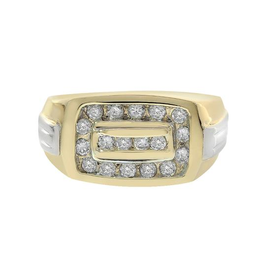 Preload https://item1.tradesy.com/images/avital-and-co-jewelry-14k-yellow-gold-050ct-round-cut-channel-setting-diamonds-mens-ring-21543915-0-0.jpg?width=440&height=440